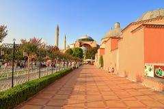 Hagia Sophia, Istanbul Stock Photo
