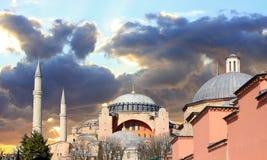 Hagia Sophia, Istanbul. Hagia Sophia Museum in Istanbul, Turkey Royalty Free Stock Images