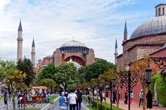 Hagia Sophia in Istanbul Stock Photos