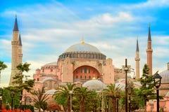 Hagia Sophia, Istanbul, royaltyfri bild