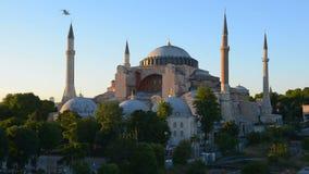 Hagia Sophia in Istanbul stock video