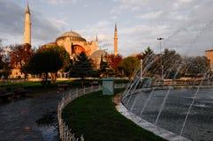 The Hagia Sophia, Istanbul, Turkey Stock Images