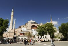 Hagia Sophia, Istanbul, Turkey Royalty Free Stock Images
