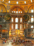 Hagia Sophia in Istanbul,Turkey Stock Photography