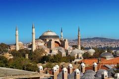 Hagia Sophia in Istanbul, Turkey Stock Images