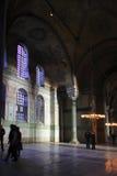 Hagia Sophia, Istanbul, Turkey. Hagia Sophia (Greek: Ἁγία Σοφία; Holy Wisdom, Turkish: Ayasofya) is a former patriarchal basilica, later a mosque, now Royalty Free Stock Photo
