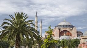 Hagia Sophia in Istanbul Stock Photo