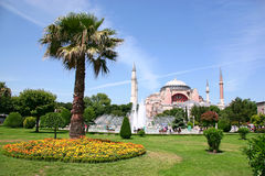 Hagia Sophia, Istanbul-Turkey Royalty Free Stock Photos