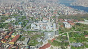 Hagia Sophia in Istanbul, Turkey stock video footage
