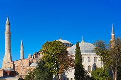Hagia Sophia in Istanbul Turkey Royalty Free Stock Images