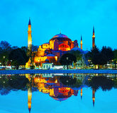 Hagia Sophia in Istanbul, Turkey Royalty Free Stock Photography