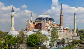 Hagia Sophia in istanbul,Turkey. The famous Hagia Sophia in istanbul,Turkey stock image