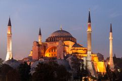 Hagia Sophia in Istanbul, Turkey Royalty Free Stock Photo