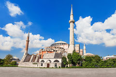 Hagia Sophia, Istanbul. Hagia Sophia in Istanbul, Turkey. Hagia Sophia is the greatest monument of Byzantine Culture royalty free stock images