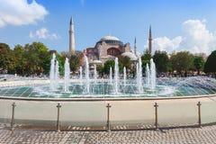 Hagia Sophia, Istanbul. Hagia Sophia in Istanbul, Turkey. Hagia Sophia is the greatest monument of Byzantine Culture stock images