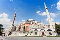 Hagia Sophia, Istanbul. Hagia Sophia in Istanbul, Turkey. Hagia Sophia is the greatest monument of Byzantine Culture stock photography