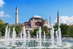 Hagia Sophia, Istanbul. Hagia Sophia in Istanbul, Turkey. Hagia Sophia is the greatest monument of Byzantine Culture stock image