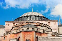 Hagia Sophia, Istanbul. Hagia Sophia in Istanbul, Turkey. Hagia Sophia is the greatest monument of Byzantine Culture royalty free stock photo