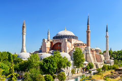 Hagia Sophia in Istanbul, Turkey. Hagia Sophia is the greatest monument of Byzantine Culture stock images
