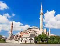 Hagia Sophia, Istanbul. Hagia Sophia in Istanbul, Turkey. Hagia Sophia is the greatest monument of Byzantine Culture stock photos