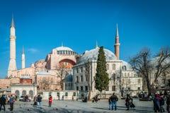 Hagia Sophia in Istanbul, Turkey Stock Photography