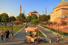 Hagia Sophia, Istanbul, Turkey Stock Photos