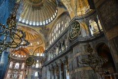 Hagia Sophia in Istanbul Turkey Stock Photography