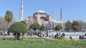Hagia Sophia in Istanbul, Turkey Royalty Free Stock Images