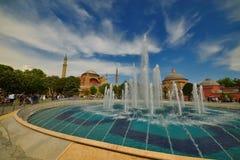 Hagia Sophia in Istanbul, Turkey Royalty Free Stock Photography
