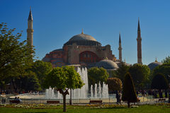Hagia Sophia in Istanbul, Turkey Royalty Free Stock Photos