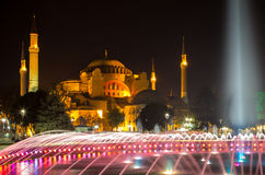 Hagia Sophia. In Istanbul, Turkey Royalty Free Stock Photo