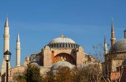 Hagia Sophia. In Istanbul, Turkey Royalty Free Stock Image