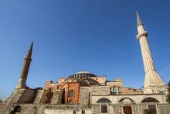 Hagia Sophia. In Istanbul, Turkey Royalty Free Stock Photography