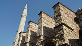 Hagia Sophia, Istanbul, Turkey. Photos travel, attractions, interesting artifacts, beautiful people Royalty Free Stock Images