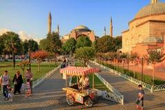 Hagia Sophia, Istanbul, Turkiet Arkivfoton