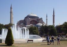 The Hagia Sophia, Istanbul Royalty Free Stock Photo