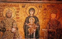 Hagia Sophia Jesus Christ Pantocrator interior extraordinario, De Fotografía de archivo