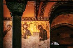 Hagia Sophia Jesus Christ Pantocrator interior extraordinario, De Fotos de archivo libres de regalías
