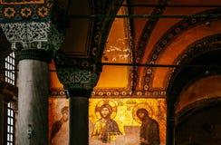 Hagia Sophia Jesus Christ Pantocrator interior extraordinario, De Imagen de archivo