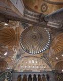 Hagia Sophia kopuła Zdjęcie Stock