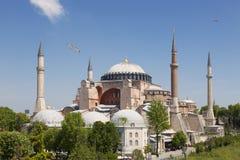 Hagia Sophia is the main church of the Byzantine empire, today a main landmark of Istanbul Stock Photo
