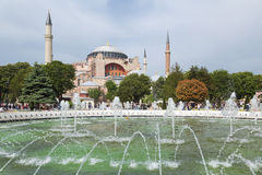 Hagia Sophia is the main landmark of Istanbul Stock Photo