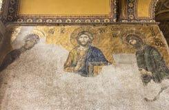 Hagia Sophia Mosaic Istanbul Turkey Stock Photo