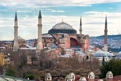 Hagia Sophia Moschee, Istanbul, die Türkei. Lizenzfreies Stockfoto