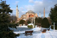 Hagia Sophia mosque Royalty Free Stock Image
