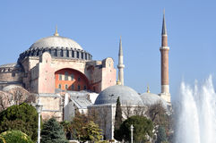 Hagia Sophia mosque Stock Photography