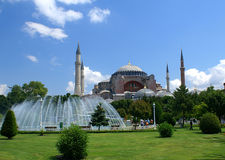 Hagia Sophia mosque. The famous Hagia Sophia mosque, Istanbul, Turkey Stock Photo