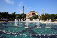 Hagia Sophia Mosque Royalty Free Stock Photos