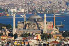 Hagia sophia mosque bosporus istanbul royalty free stock photography