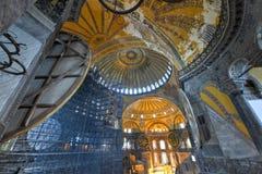 Hagia Sophia Mosque - Estambul, Turquía Fotografía de archivo libre de regalías